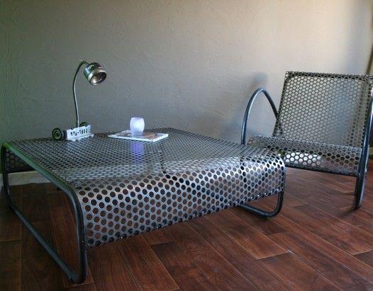 Best 25 Table Basse Metal Ideas On Pinterest Table Basse Bois Metal Mesas And Soudure