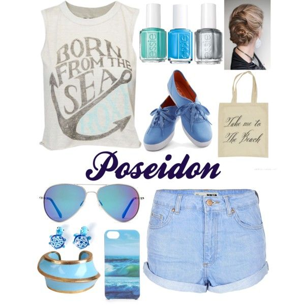 Daughter of Poseidon by flailingfangirl, via Polyvore