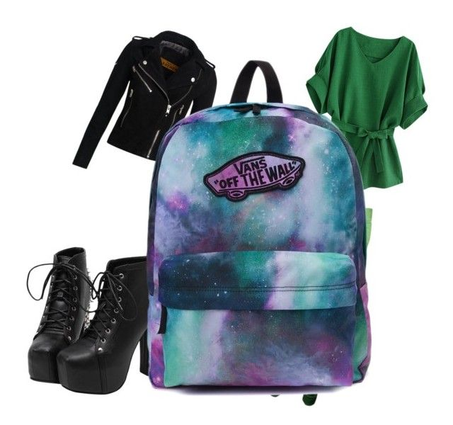 """Greeen"" by sarah-oliveras on Polyvore featuring Superdry and Vans"