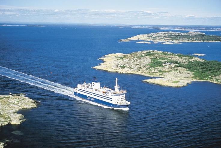 Color Viking - Die Fähre verkehrt auf unserer kürzesten Verbindung zwischen Strömstad in Schweden und Sandefjord in Norwegen