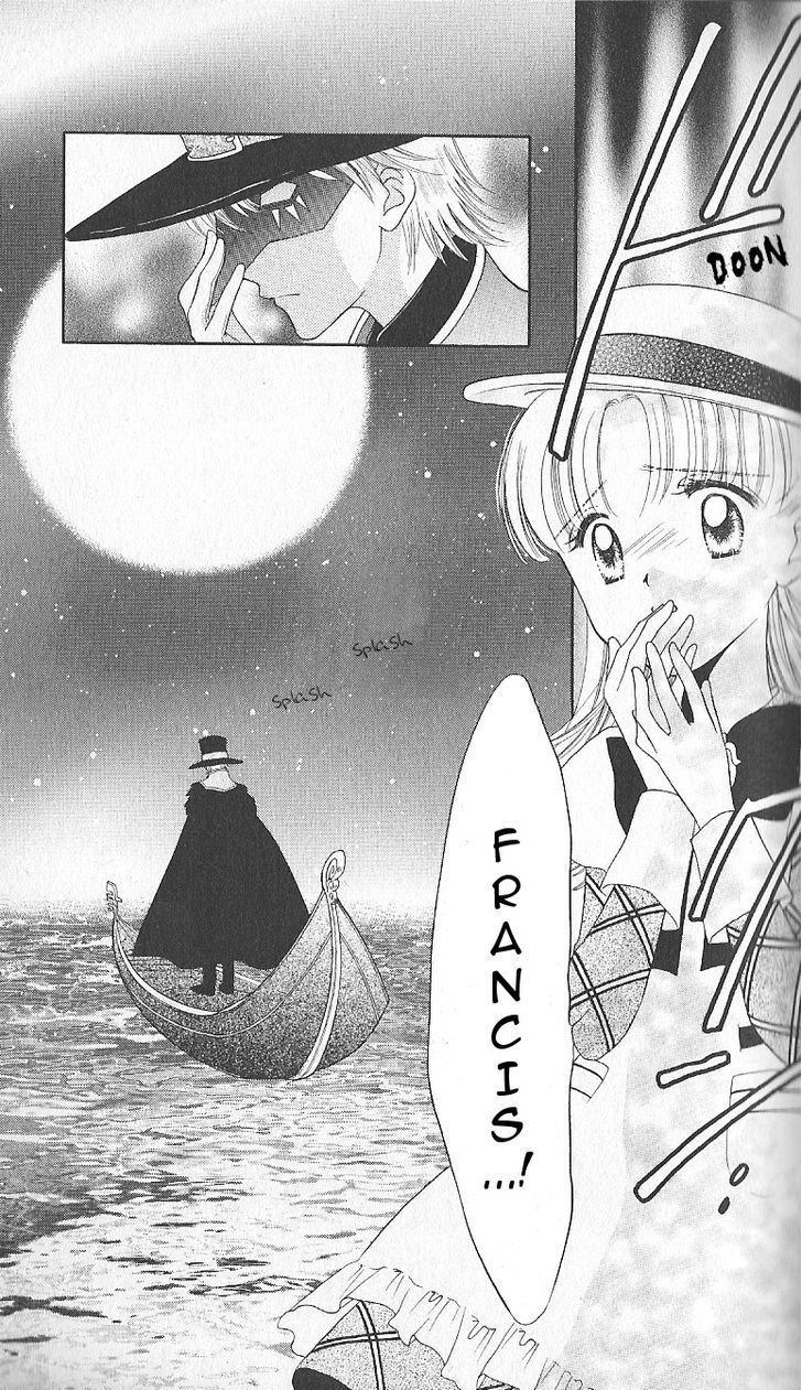 Ashita no Nadja this is why I didn't like the manga!  Francis was black rose instead of keith!