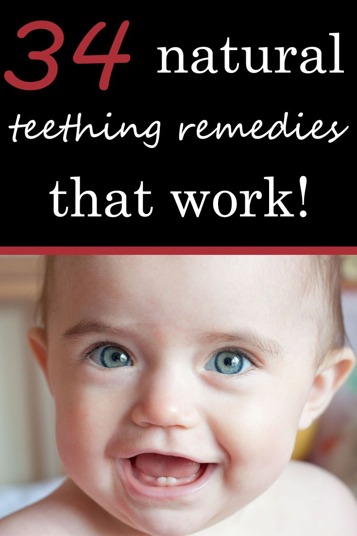 34 Strategies to Defeat Teething Pain and Get More Sleep! Every tip on the planet - homemade DIY & All Natural Remedies http://powellsowls.com/pages/34-natural-teething-remedies
