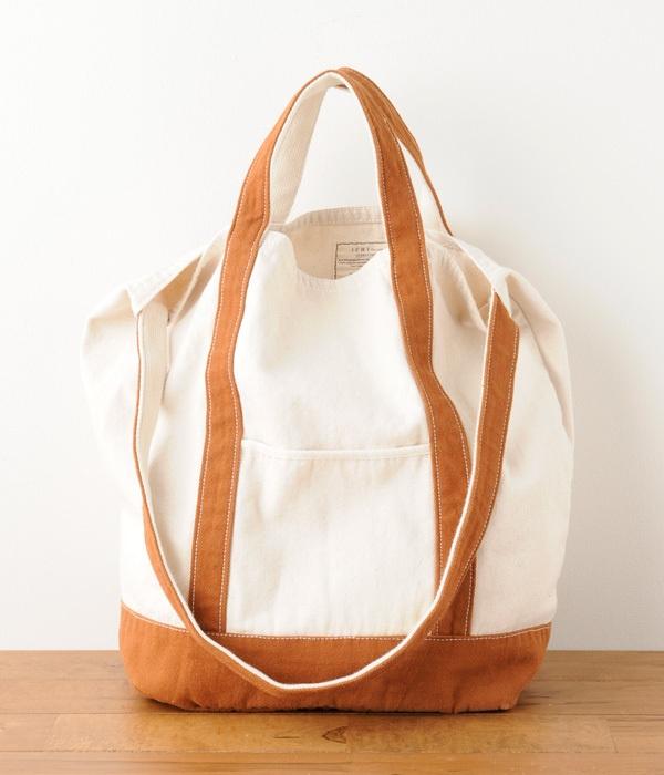 2WAYキャンバスバッグ【リンネル10月号掲載商品】
