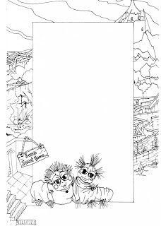 17 best images about labyrinth on pinterest the goblin for Labyrinth coloring pages