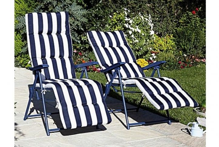 Deluxe Garden Recliners, Set of 2 | Absolute Home