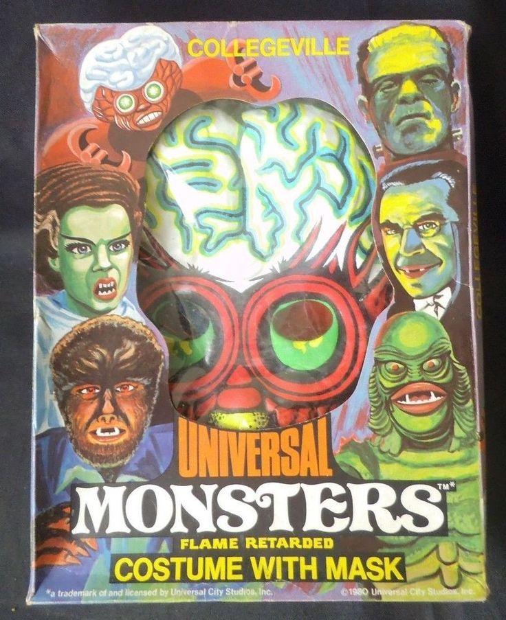 Collegeville Universal Monsters MUTANT Halloween Costume
