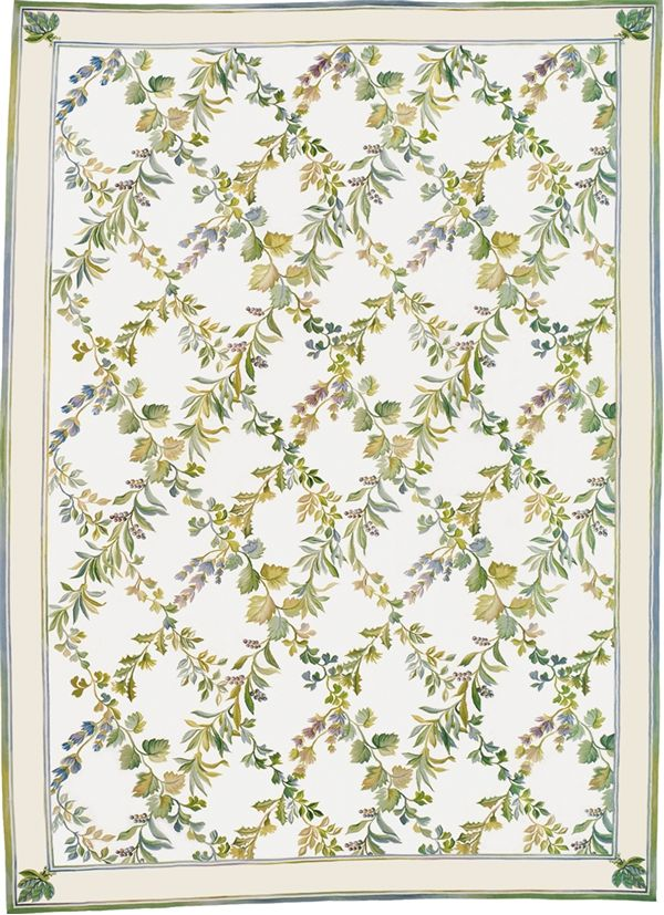 vendance aubusson rug 5134c based on an original asmara painting by elizabeth moisan inspired by - Aubusson Rugs