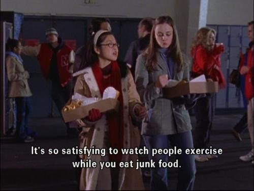 LOL!  gilmore girls quotes
