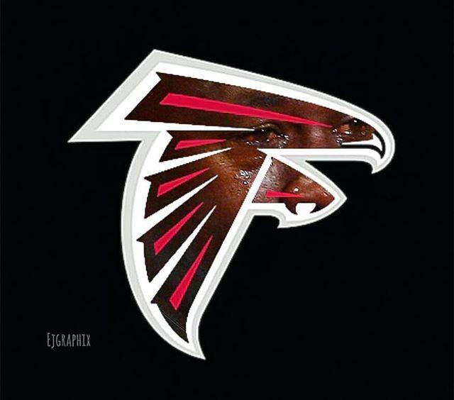 Falcons Waking Up Like Cryingjordanface Cryingjordan Jordan Meme Crying Wake Up