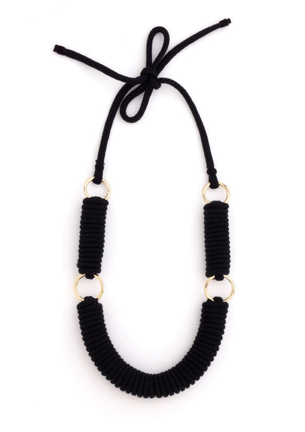 Reef Necklace - Black Collection