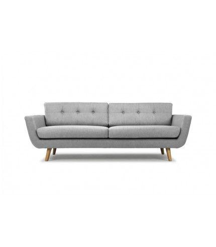 Vera 3-seater sofa in Vendy cool grey