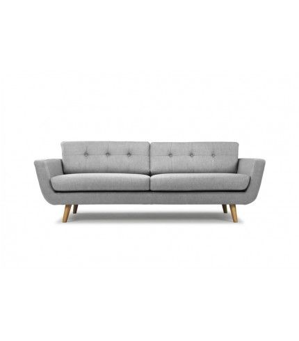 Vera 3-seater sofa in Vendy cool grey