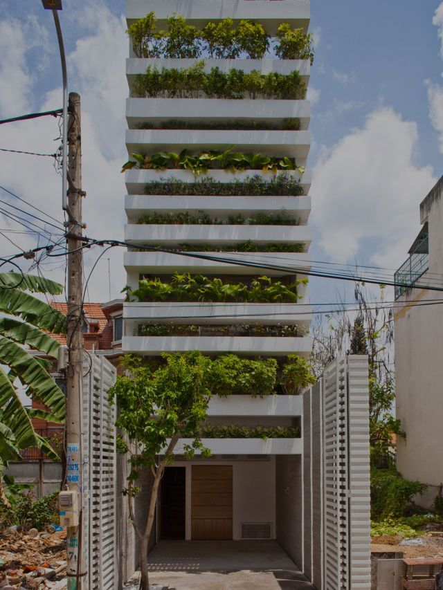 Vo Trong Nghia Architects · Stacking Green · Divisare
