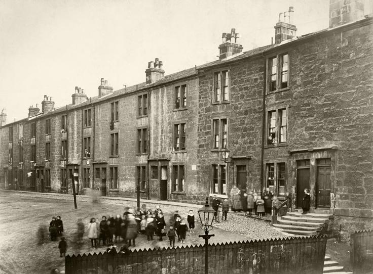Glasgow tenements 1900s