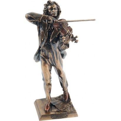 Набор «Великий Паганини» - это, вероятно, самый необычный и в то же время запоминающийся #подарок. В набор входят: миниатюрная #скульптура, которая передает всю экспрессию, талант и вдохновение Маэстро; модель скрипки, которая является не просто муляжом - стоит к ее струнам прикоснуться смычком, и зазвучит очаровательная мелодия; и, наконец, диск с хитами #Паганини. Дарить такой набор стоит тем, кто, по Вашему мнению, достиг #совершенства.  #podarkoff #vip #vippodarki #подаркоффру #подарки…