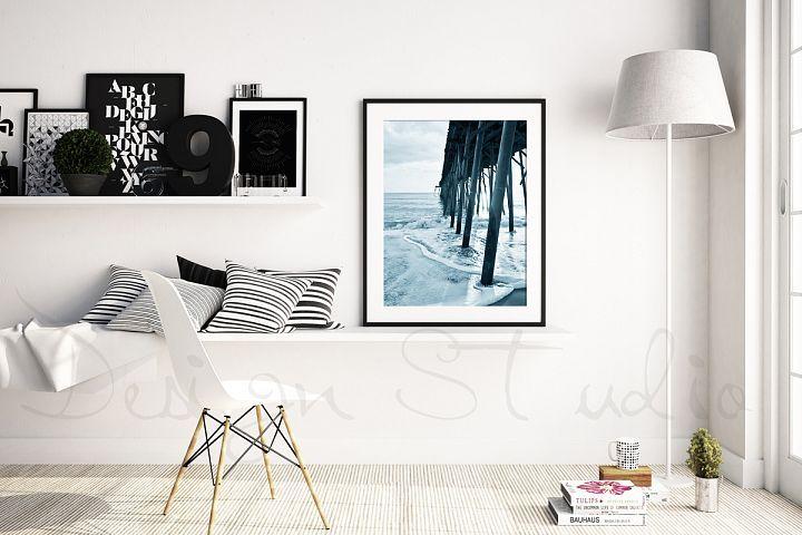 Styled Stock Photography, Scandinavian Frame mockup, PSD Styled Photography Mockup, stock photo from DesignBundles.net