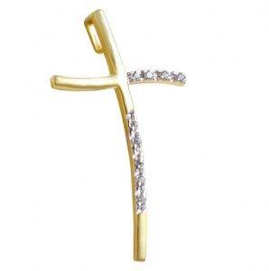 ΣΤ676Τ -Χρυσός σταυρός