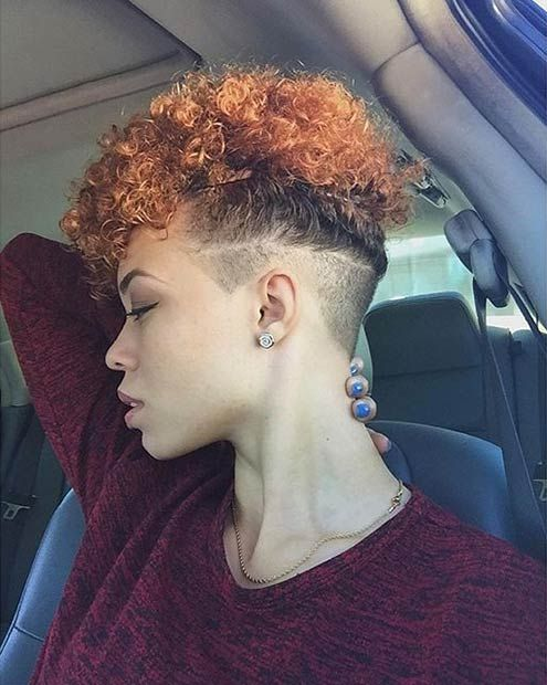 Undercut Style for Curly or Natural Hair