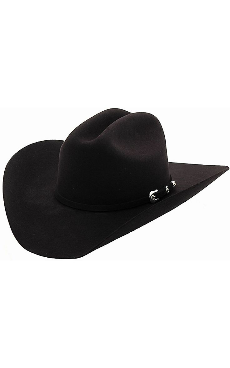 Cavender's® 10X Silver Star Black Felt Cowboy Hat