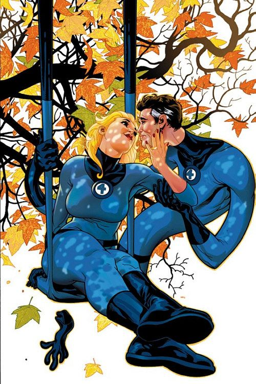 Image result for Mister Fantastic and Invisible Woman 60s