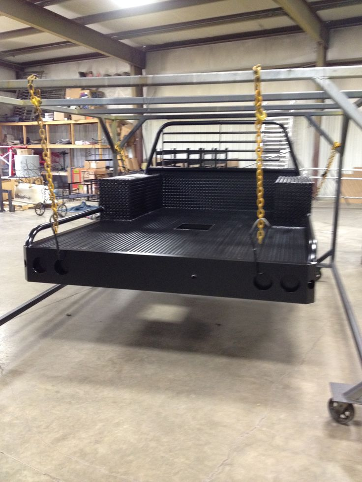 flatbed truck bed done in black Truck bed, Flatbed truck