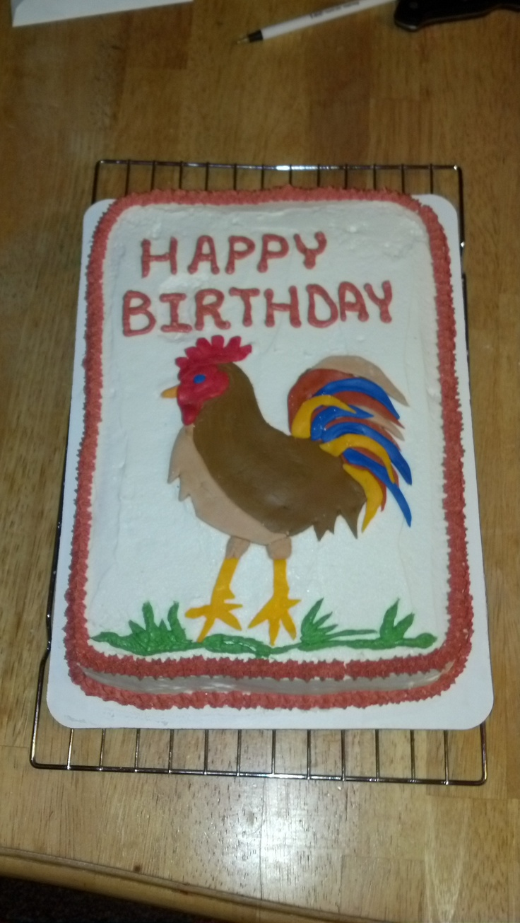 rooster cake Ideas de inspiracion Pinterest