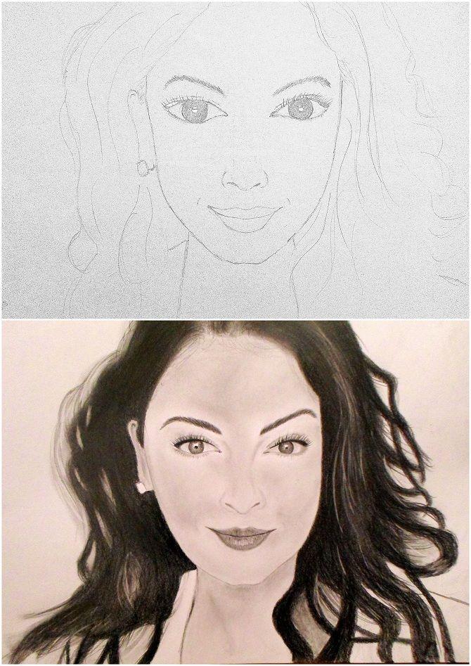 előtte-utána rajz