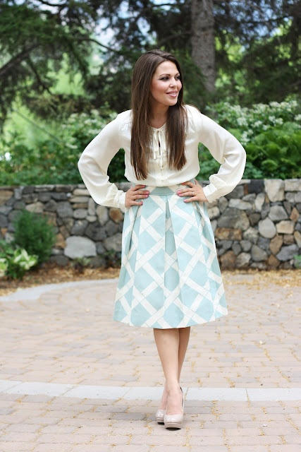 Modest and adorable... http://laviepetite.blogspot.com/