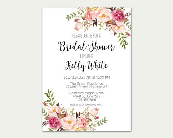 Hey, I found this really awesome Etsy listing at https://www.etsy.com/listing/270412927/bridal-shower-invitation-bridal-shower