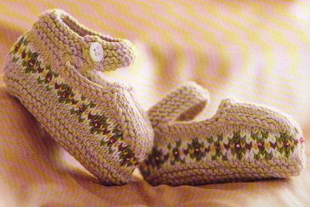 debbie bliss free knitting pattern |isle shoes