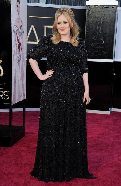 Adele Photos - 85th Annual Academy Awards - Arrivals..Dolby Theatre, Hollywood, CA..February 24, 2013..Job: 130224A1..(Photo by Axelle Woussen)..Pictured: Adele. - Arrivals at the 85th Annual Academy Awards