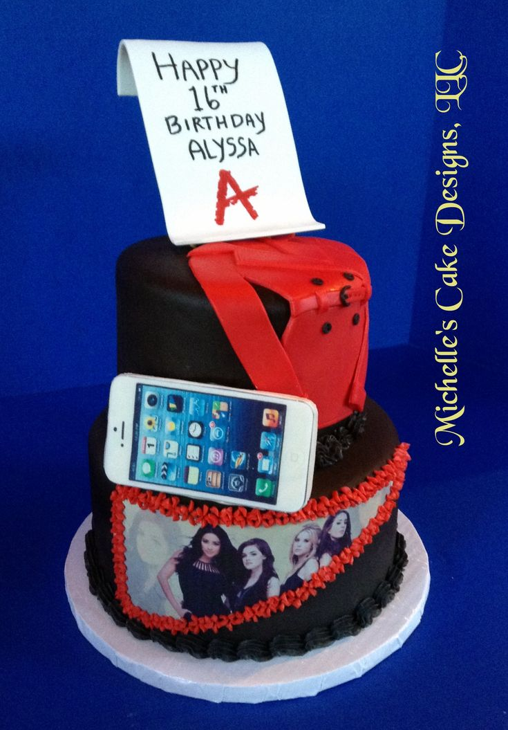 Pretty Little Liars Cake - Cake Decorating Community - Cakes We Bake