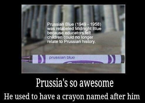 Prussian Blue...not even joking this was my favorite color Crayola as a little kid!