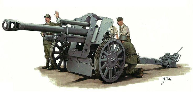 10.5 cm leFH 18 / 18M howitzer