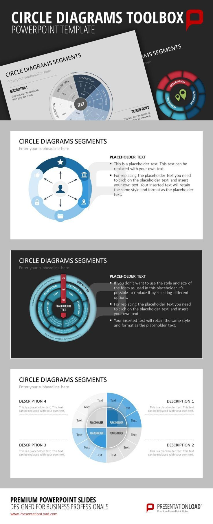 43 best diagrams // powerpoint templates images on pinterest, Presentation templates