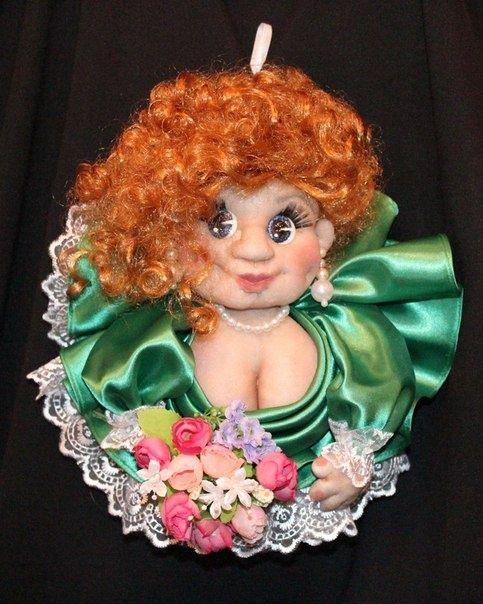 Кукла-попик, цена 250.00 грн., фото, заказать в Одессе - ETOV (ID#379504).