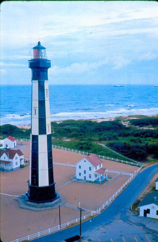 Lighthouse at Fort Story, Virginia Beach, VA. LOVED it here! I'd go to the beach here for quiet picnics