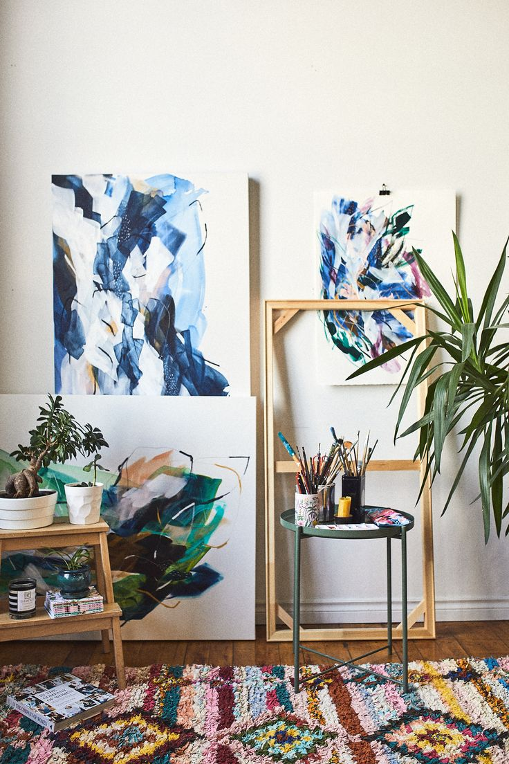 Our Studio. Lysa & Sergio Photo by : Phil Bernard