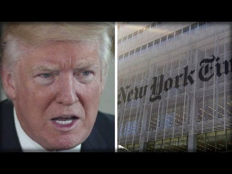 NEW YORK TIMES JUST ATTACKED TRUMP FOR USING TELEPROMPTER, THEN HISTORY SLAMS THEM IN THE FACE - YouTube