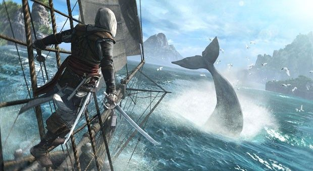 Assassin's Creed 4: Black Flag swabbing decks on Wii U, PlayStation 3 / 4, PC, Xbox 360 and next Xbox