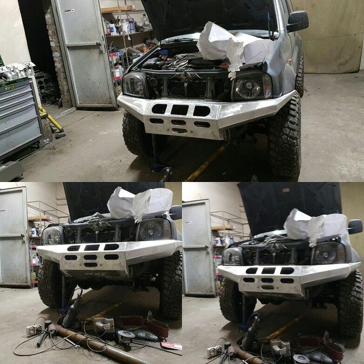 Suzuki jimny custom bumper by STT