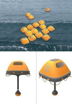 The Duckweed Survival House is a floating emergency shelter designed to elevate survival rates and assist with rescues in disaster situations such as tsunamis and floods. An alternative to exposed life rafts, the enclosed design providers shelter from the elements and even large waves that have potential to overthrow or exhaust survivors