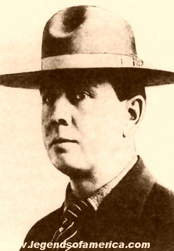 Emmett Dalton was the only member of the Dalton Gang to survive.
