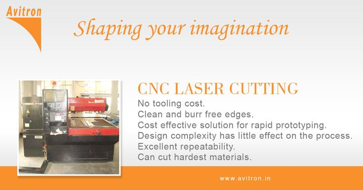 Avitron uses the latest CNC laser cutting machines to offer high precision laser cutting services to its customers. What is really good about these services is that they're affordable and quick. Furthermore, these services are provided to you by our experts that have been dealing with laser cutting process for a long time and that have sound knowledge of laser technology. For more details contact us Email : info@avitron.in Visit : http://www.avitron.in/cnc-laser-cutting.html