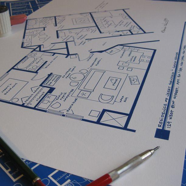 17 Best Images About Sitcom Floor Plans On Pinterest