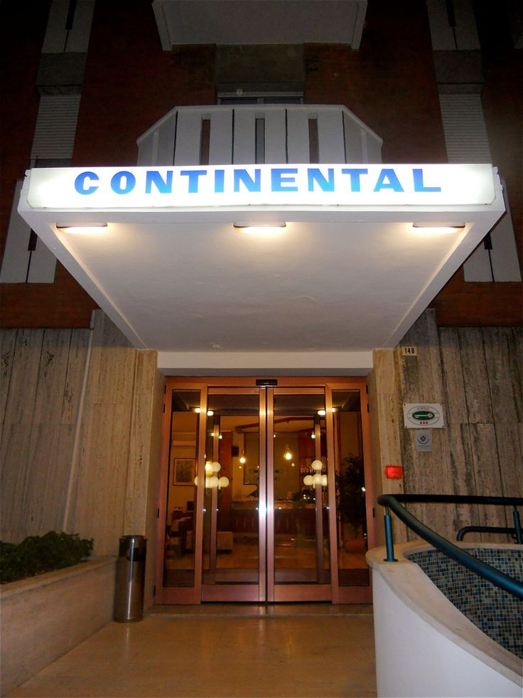 #Welcome to the Hotel Continental!