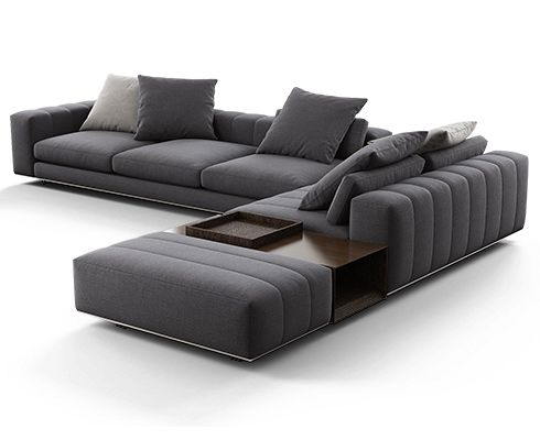 Park sofa 01 3d model by Design Connected Corner sofa