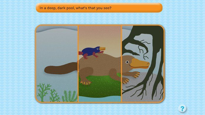 Can you make this platypus rhyme? - English (F,1,2)