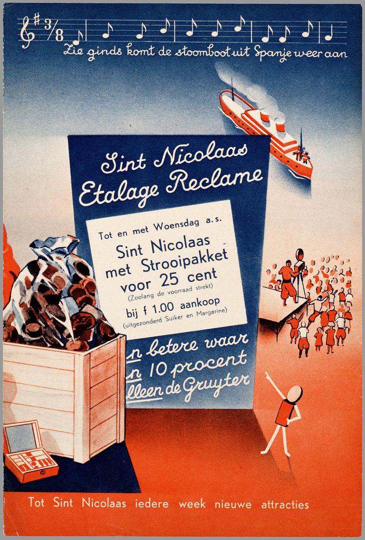 De Gruyter, Sinterklaas reclame
