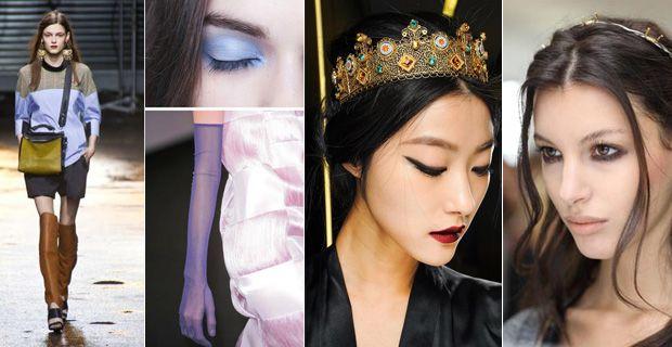 Những xu hướng trang điểm nổi bật thu đông 2013